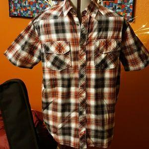 Vans Snap Plaid shirt